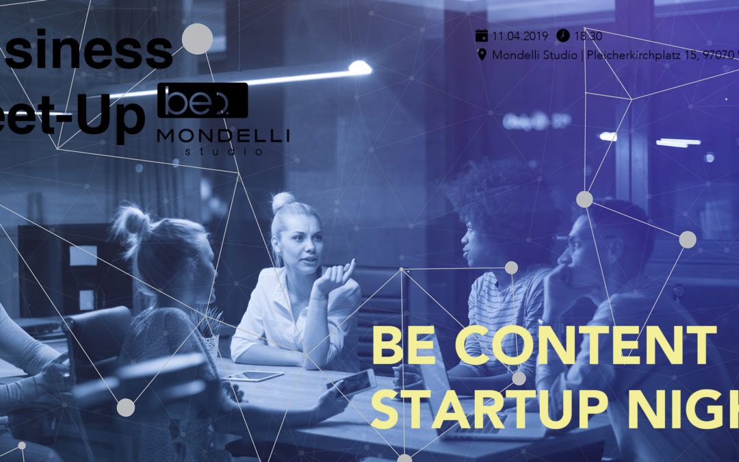be content Startup Night
