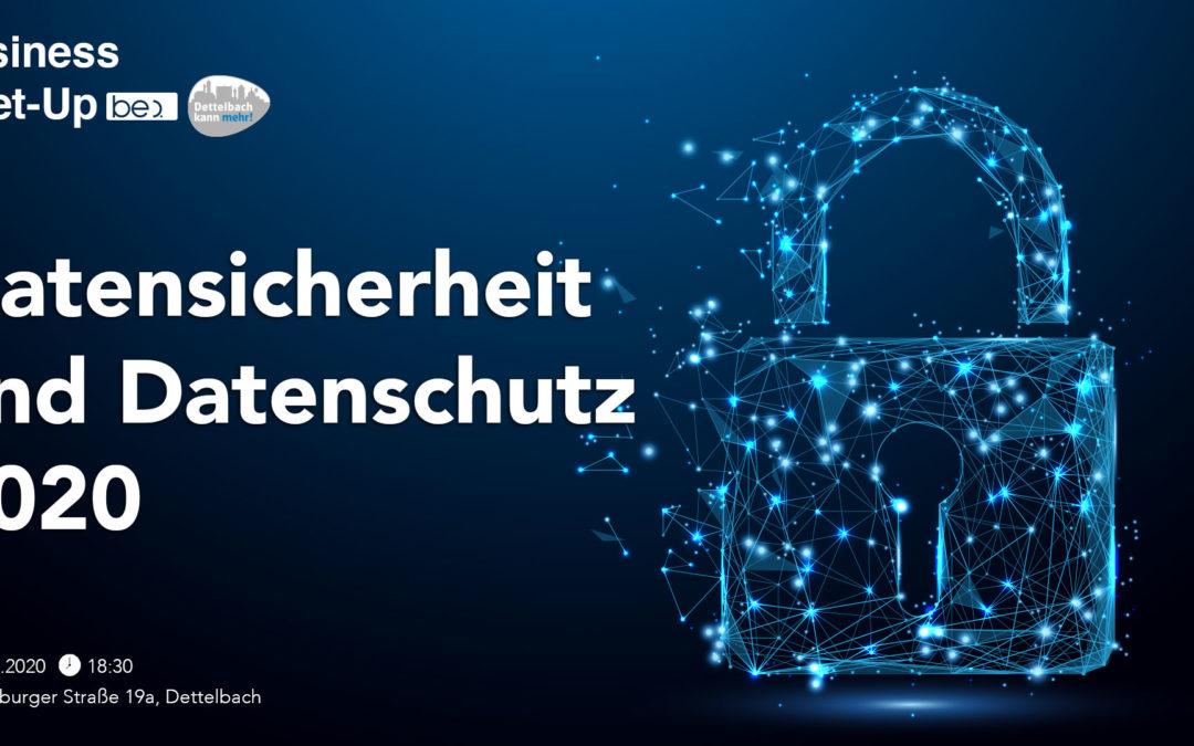 Datensicherheit und Datenschutz 2020 be content featuring Heiko Kaiser