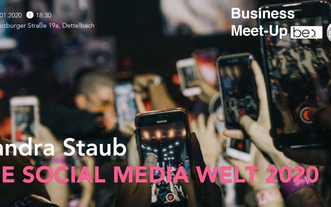 Die Social Media Welt 2020