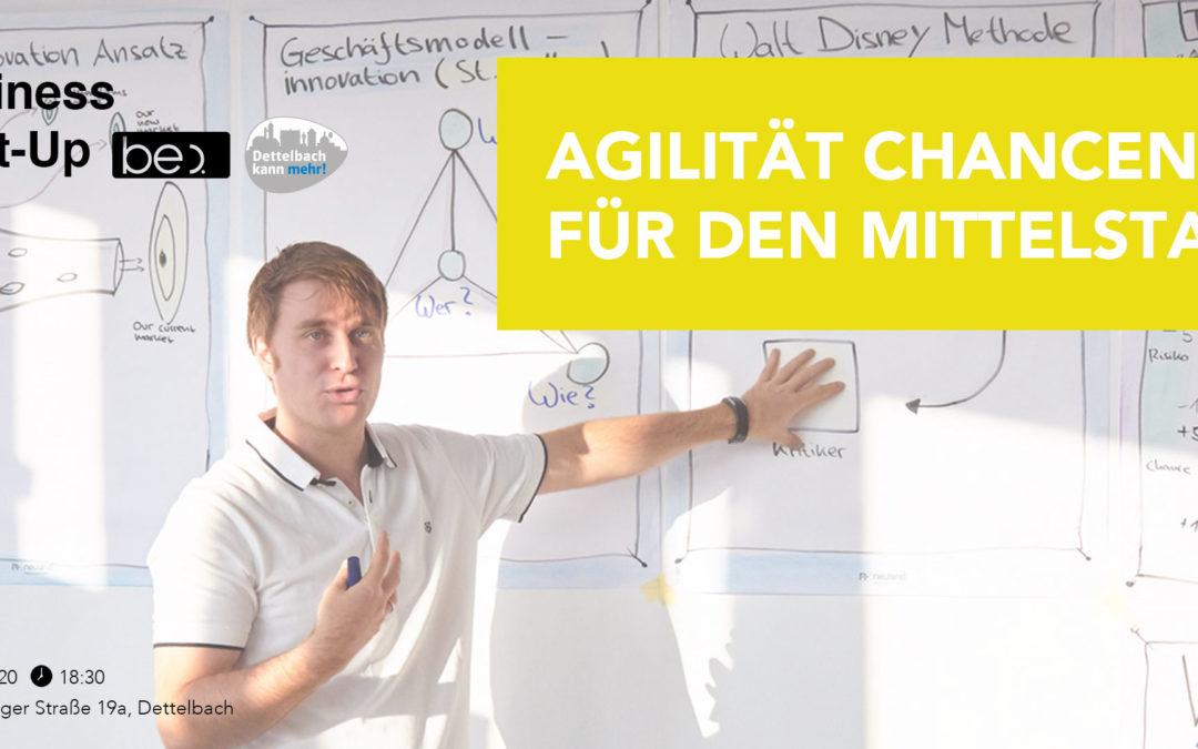 Agilität. Chancen für den Mittelstand be content featuring PreVision