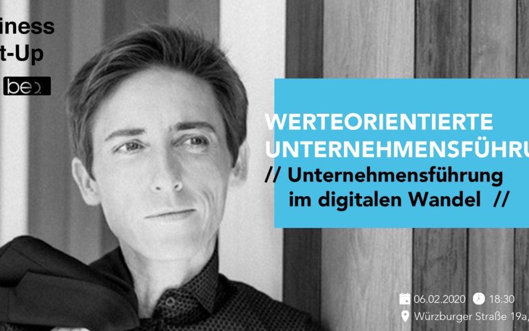 Werteorientierung im digitalen Wandel be content featuring Gabi Stratmann