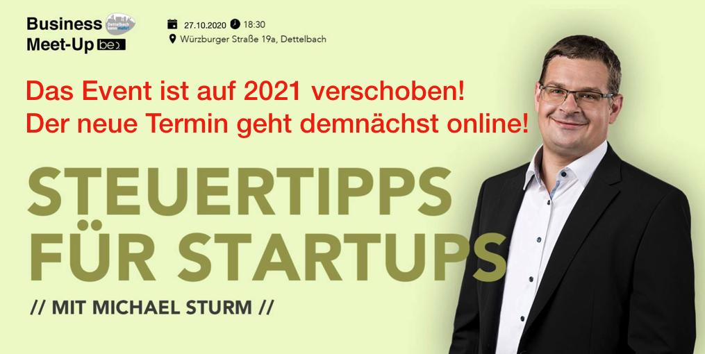 Achtung auf 2021 verschoben: Steuertipps für Startups