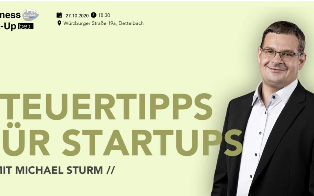 Steuertipps für Startups