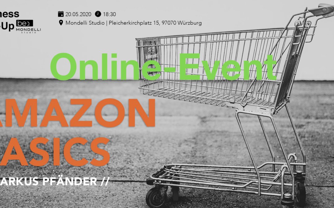 Online-Meetup: Amazon Basics be content featuring Markus Pfänder