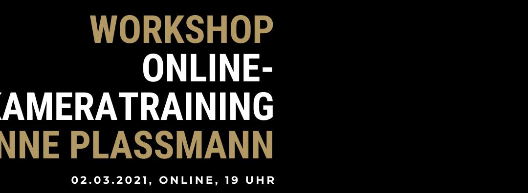 Workshop: Online-Kamera-Training 3000