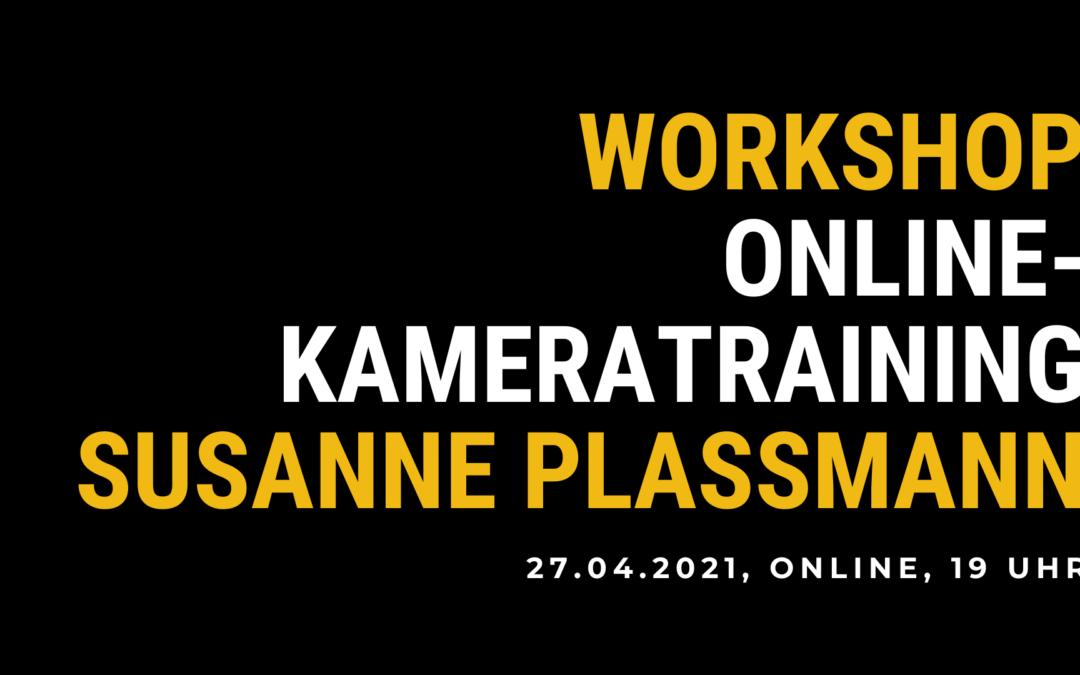 Workshop: Online-Kamera-Training Susanne Plassmann